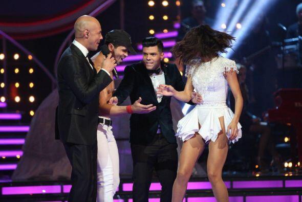 Pero el esposo de Ale, el coreógrafo Anibal Marrero, no quedó muy contento.