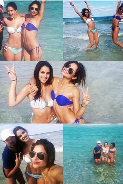 La vida unió a Vanessa de Roide y Alejandra Espinoza en Sábado gigante,...