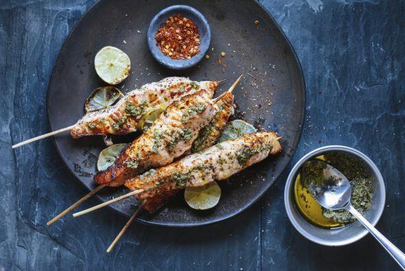 'Tip' para hacer pescados a la barbacoa: utiliza peces medianos y cocína...