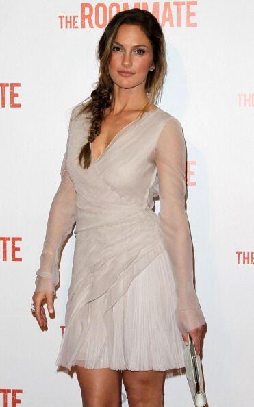 La hermosa actriz Minka Kelly y la estrella de los Yankees, Derek Jeter,...
