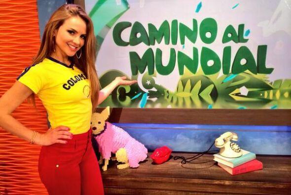 """CAMINO AL MUNDIAL"", contó Ximena. (Marzo 4, 2014)"
