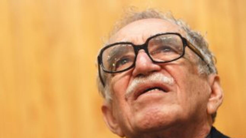 El escritor colombiano y Premio Nobel de Literatura 1982, Gabriel García...
