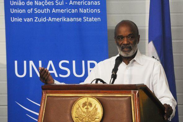 Los mandatarios abordaron la entrega de $70 millones a Haití para este m...