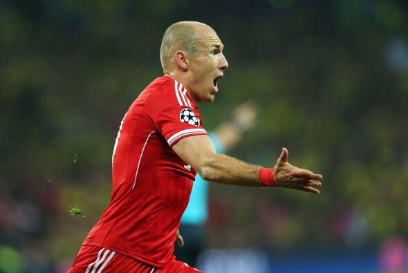 Arjen Robben: En 2013 el holandés le dio una Champions más...
