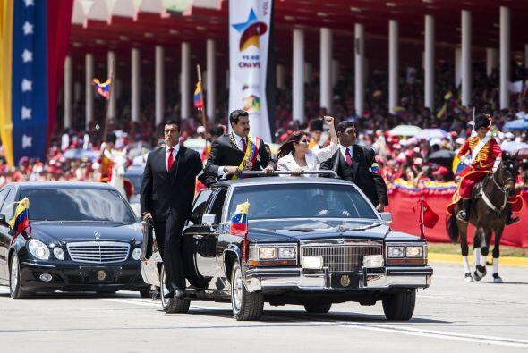 """En el discurso resaltó que """"Chávez es el Cristo Redentor de los pueblos..."""