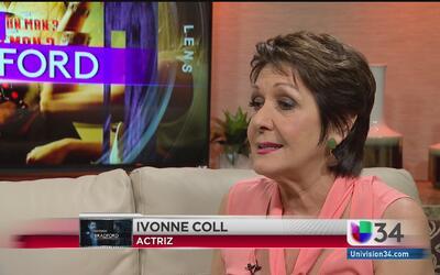 Ivonne Coll habla de su trayectoria como actriz latina en EEUU