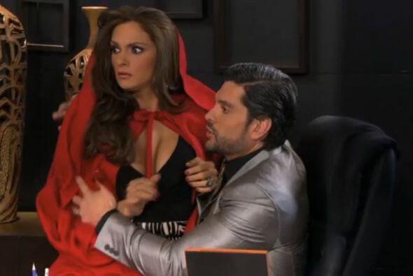 Y divertida también, pues ella se disfrazaba para él.