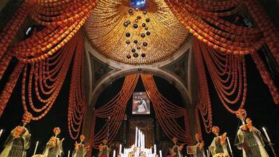 Un altar de muertos sirve para celebrar la vida de los seres queridos qu...