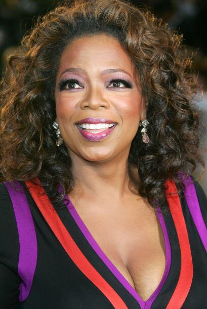 """Oprah en la fiesta de Vanity Fair tras el """"scar, el 25 de febrero d..."""