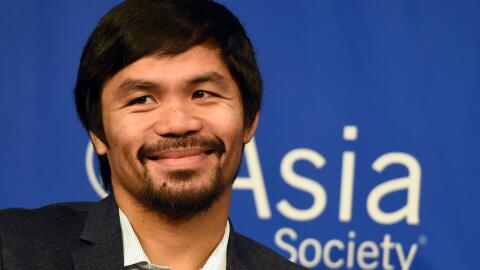 Manny Pacquiao desmintió su regreso al boxeo