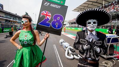 Boletos agotados para el Gran Premio de la F1 en México