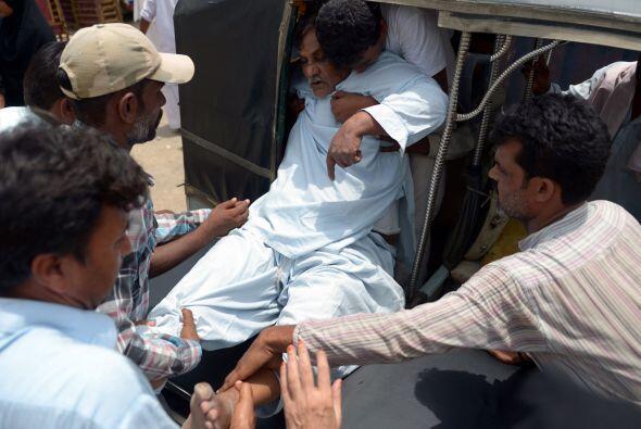 Fuentes hospitalarias explicaron que las muertes se produjeron por golpe...