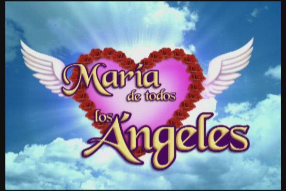 Los personajes de María de todos los Ángeles son muy diver...