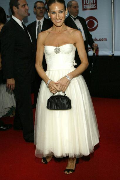 La actriz siempre ha sido seguidora de las tendencias y la moda.
