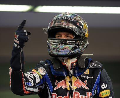 GP de ABU DABHI, 14 de noviembreSebastian Vettel ganó la carrera para co...