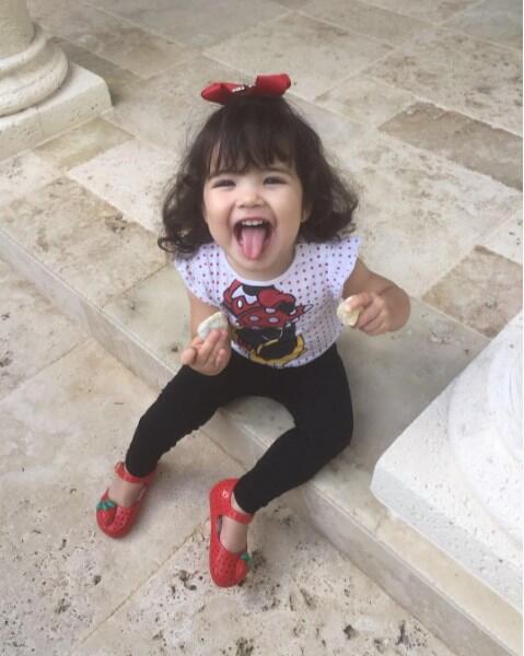 Baby Giulietta hijas de Ana Patricia Gamez
