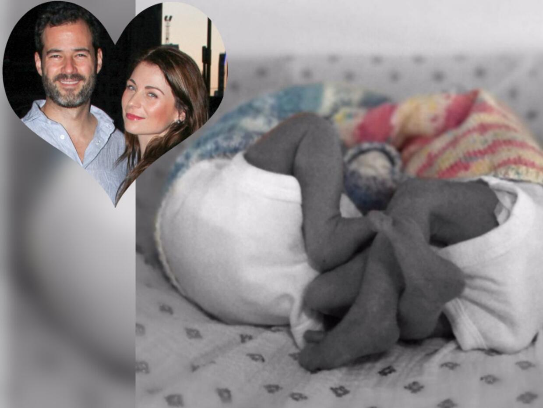 Ludwika Paleta y su esposo Emiliano Salinas se convirtieron en padres de...