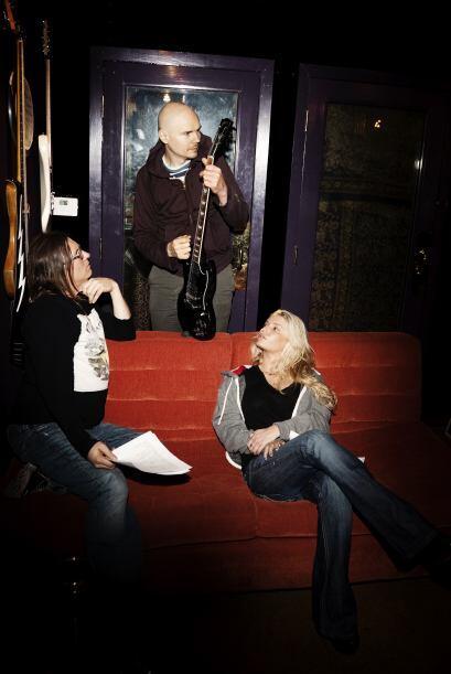 """""""Mi amigo, Billy Corgan, tiene una mirada llena de fe, pura e iluminador..."""