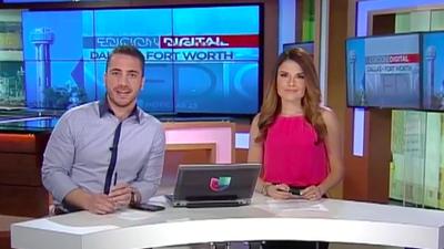 Johana Suárez y Miguel Ángel Piñeros, los presentadores del nuevo notici...