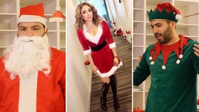 EN FOTOS: El Free-guey show prepara una sorpresa navideña 🎅🏽🎄