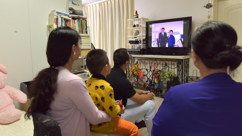 Una familia en Beijing