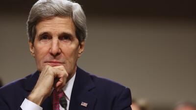 Kerry afirma que habrá que negociar con Al Assad