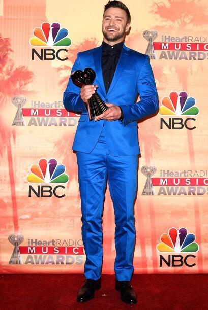 Justin Timberlake recibió un premio por innovación y lució muy juvenil e...