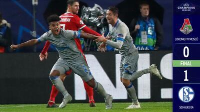 Una promesa estadounidense le da el triunfo al Schalke 04 sobre el Lokomotiv