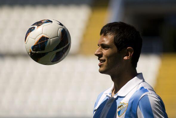 El Málaga, último equipo de Santa Cruz en el viejo continente antes de f...