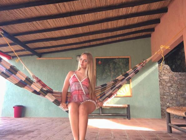 Annaelisa Baccellieri, una de las más felices con la clasificación de la...