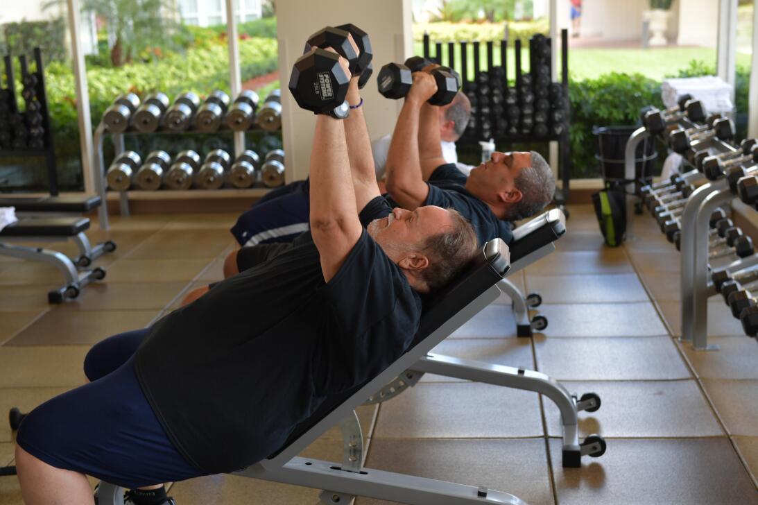 Las fotos del tratamiento intensivo de Raúl para perder peso y mejorar s...