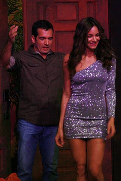 Y más con la visita de bellezas como Valerie Domínguez, ex Miss Colombia