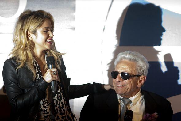 Actualmente, el padre de Shakira se dedica a acompañar a su hija por el...