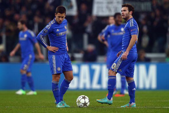 Chelsea ya se veía derrotado con este resultado parcial.