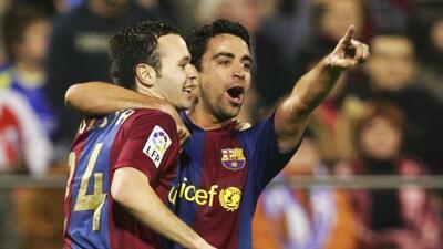 Camacho ha defendido en múltiples ocasiones el talento de Xavi e Iniesta...