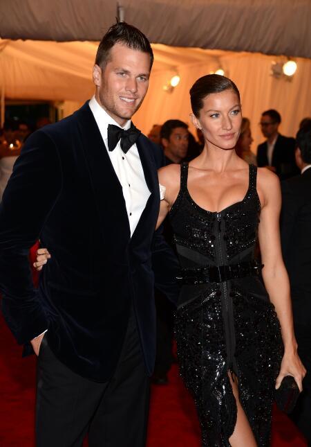 Más fotos de Gisele Bündchen y Tom Brady