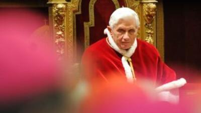 A pesar de los rumores sobre su salud, el Papa Benedicto XVI celebró hac...