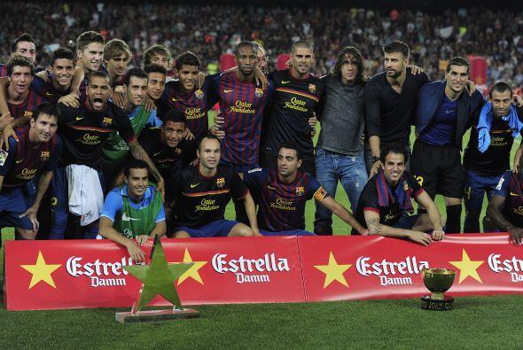 De este modo, el Barcelona sumó un Trofeo Joan Gamper a sus vitri...