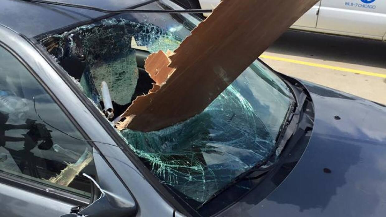 Fotos del tornado en Pontiac