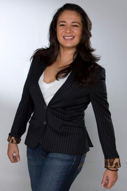 Yolanda Andrade también es amante del box.