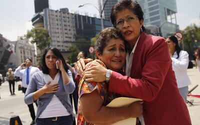 A dos horas de un simulacro de sismo, los habitantes de Ciudad de M&eacu...