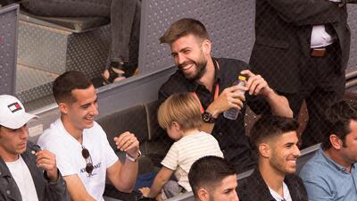 Reencuentro 'Real-Barcelona' en la eliminación de Nadal en el Mutua Madrid Open