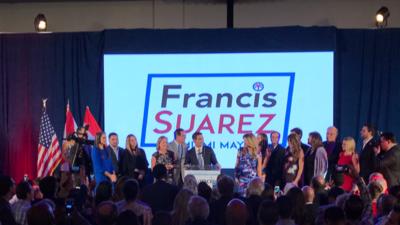 Francis Suárez es el nuevo alcalde de Miami.