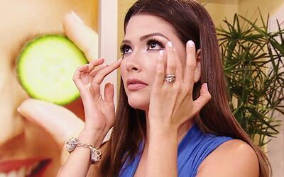 Ana Patricia quiso rejuvenecer sus ojos y Helena Sir le reveló cómo hacerlo