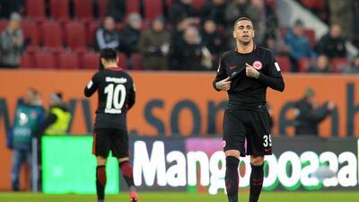 Augsburg amarga el regreso de Marco Fabián con e Frankfurt