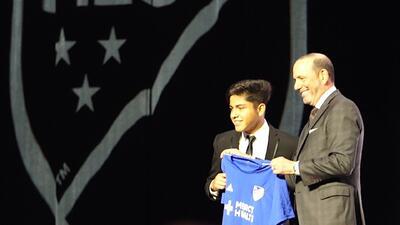 Cuatro latinos marcaron la historia del SuperDraft MLS 2019