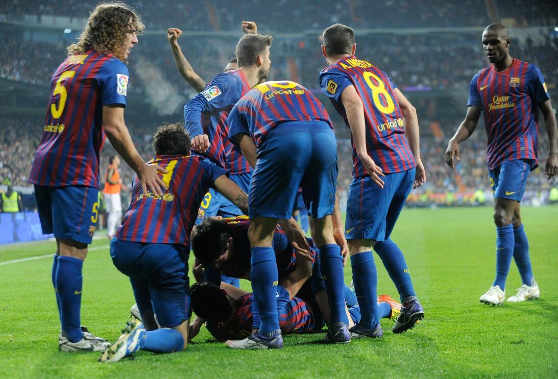 Liga 2011 Bernabeu