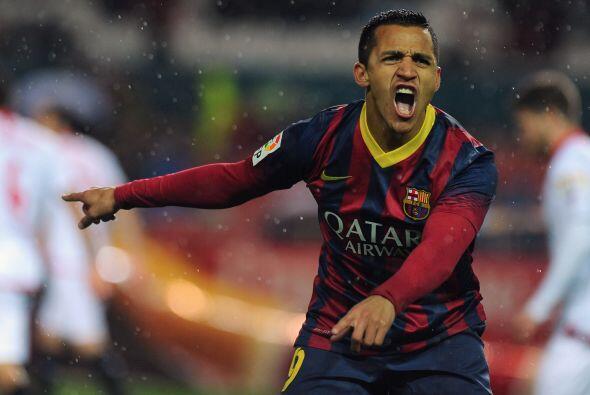 Alexis (6): Saltó al césped sustituyendo a Cesc en el minuto 78. No tuvo...