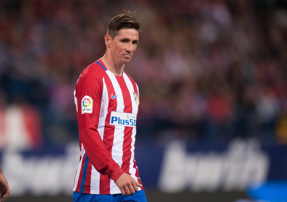 Fernando Torres (Atlético de Madrid) - El 'Niño' debutó con el e...