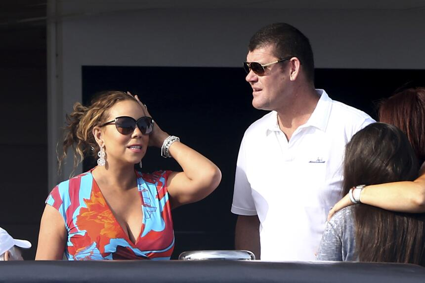 Mariah y James Packer